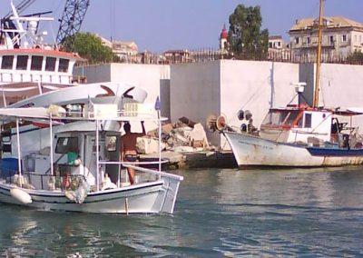 Corfiatfishingboats